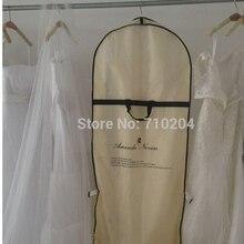 Abito da sposa sacchetto di plastica di alta qualità petticoat risparmio sacchetto abito da sposa