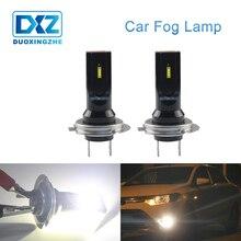 DXZ 1X светодиодные противотуманные фары H7 дневные ходовые огни авто светодиодные лампы h7 canbus 1860 6 SMD 12 V Поворот Парковка лампы 6000 k белый вождение