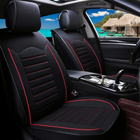 Universal flax car seat covers For Ford ka fiesta focus fusion mondeo mustang ecosport