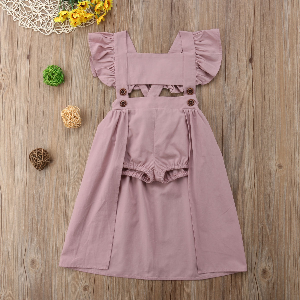 Dresses Enthusiastic Toddler Kids Baby Girls Princess Party Pageant Floral A Line Dress Sundress