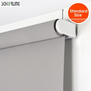 SCHRLING Customized Modern Spring Shutter Curtains Thermal Insulated Sun blinds cordless rolled blinds Curtains for Kitchen room