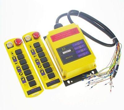 Комплект 12 В 1 Скорость Пуговицы подъемный кран Радио Дистанционное управление Системы Управление Лер ce