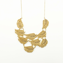 Hot fashion temperament of restoring ancient ways design unique maple leaf Pendant Chain Choker Bib Statement Necklace