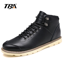 2017 TBA Men's Martin cotton shoes Classic warm leather shoes lace-up waterproof Outdoor SKateboaring shoes CL8372L