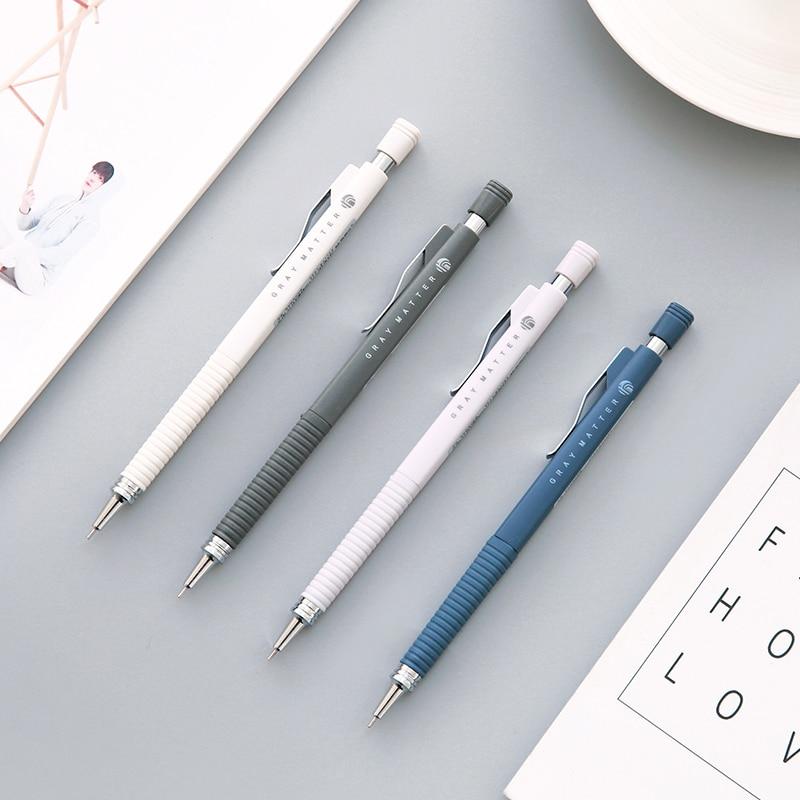 M&G AMP39202 Gray Harmonic Series Mechanical Pencil Simple Solid Color 0.5mm Mechanical Pencil 1PCS цены онлайн