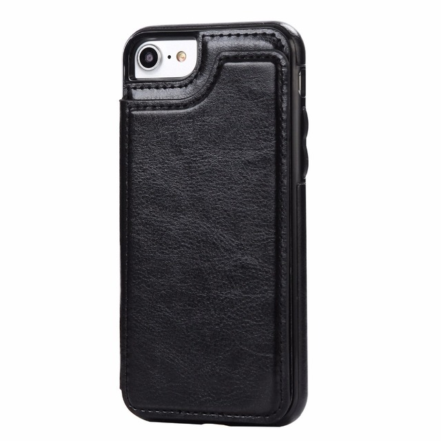 Flip Stand Leather Case for iPhone