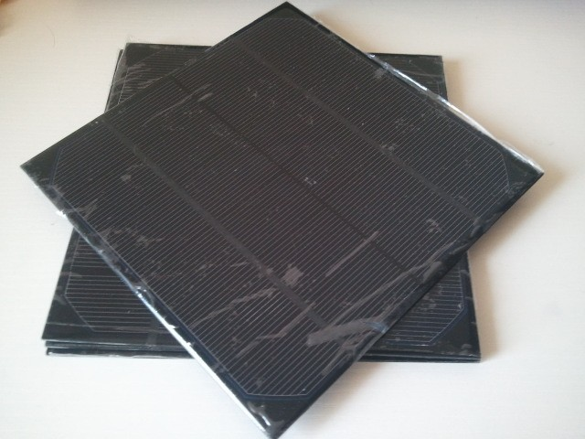 Mini monocrystalline solar panel 6V 4.5W 720MA High quality solar cell panel for make solar power supply.give diodes for free
