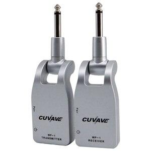 Cuvave Wp-1 2.4G Chitarra Senza Fili Trasmettitore E Ricevitore Del Sistema Built-in Ricaricabile Al Litio(China)