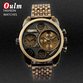 Relogio masculino 2016 Novos Homens Da Moda Relógios de Quartzo Homens Luxo Marca Completa de Aço Inoxidável Antigo Relógio Masculino Relógios Militares