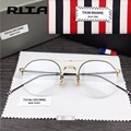 2017 thom browne eyewear optical brand eyeglasses Computer Round glasses frame Fashion temperament oliver peoples oculos de grau