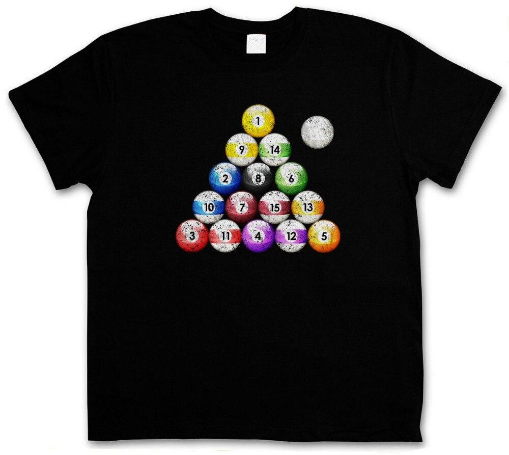 2018 Crossfit T ShirtsPOOL BILLARD VINTAGE T-SHIRT - Eightball 8 Ball Bar Gamble Player Shirt Snooker