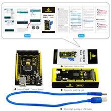 1Pcs Keyestudio MEGA 2560 R3+ 1Pcs USB cable compatible with Arduino MEGA 2560 R3/AVR