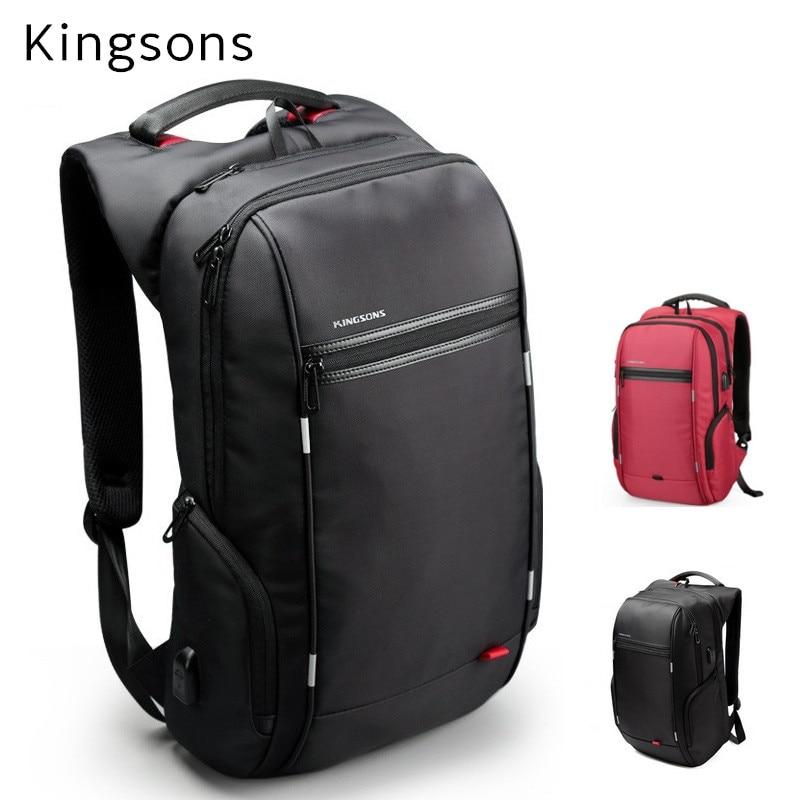 2019 Kingsons Brand Backpack For Laptop 15 15 6 Notebook 13 14 15 4 Compute Bag