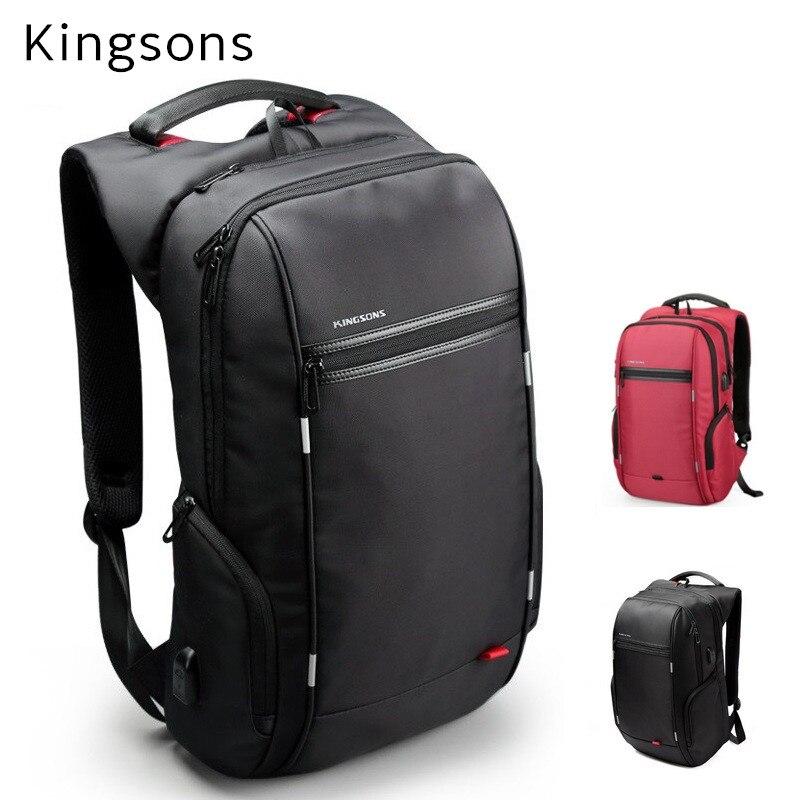 """2019 Kingsons ブランドケースカバーバックパック 15 """"、 15.6"""" 、ノートブック 13 """"、 14"""" 、 15.4 """"計算バッグ、ビジネス、オフィスワーカー、無料ドロップシッピング  グループ上の パソコン & オフィス からの ノートパソコンバッグ & ケース の中 1"""