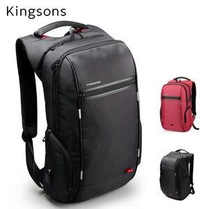 """Image 1 - Kingsons mochila para ordenador portátil de 15 """", 2020"""",Notebook 13 """",14"""", bolsa de ordenador de 15,6 """", negocios, trabajadores de la Oficina, envío gratis, 15,4"""