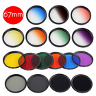 1Piece DSLR Camera Lens Filter 67mm Thread Mount for Nikon AF-S 18-140mm f/3.5-5.6G ED VR 67mm Lens Accessories