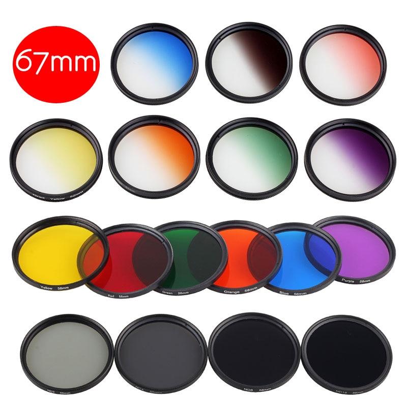 1Piece DSLR Camera Lens Filter 67mm Thread Mount for Nikon AF-S 18-140mm f/3.5-5.6G ED V ...