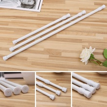 Curtain Rods Telescopic Pole Voile Extendable Tension Rod Hanger Spring Loaded Adjustable Bathroom ShowerChina