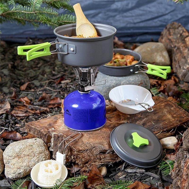 Outdoor Cookware set 6