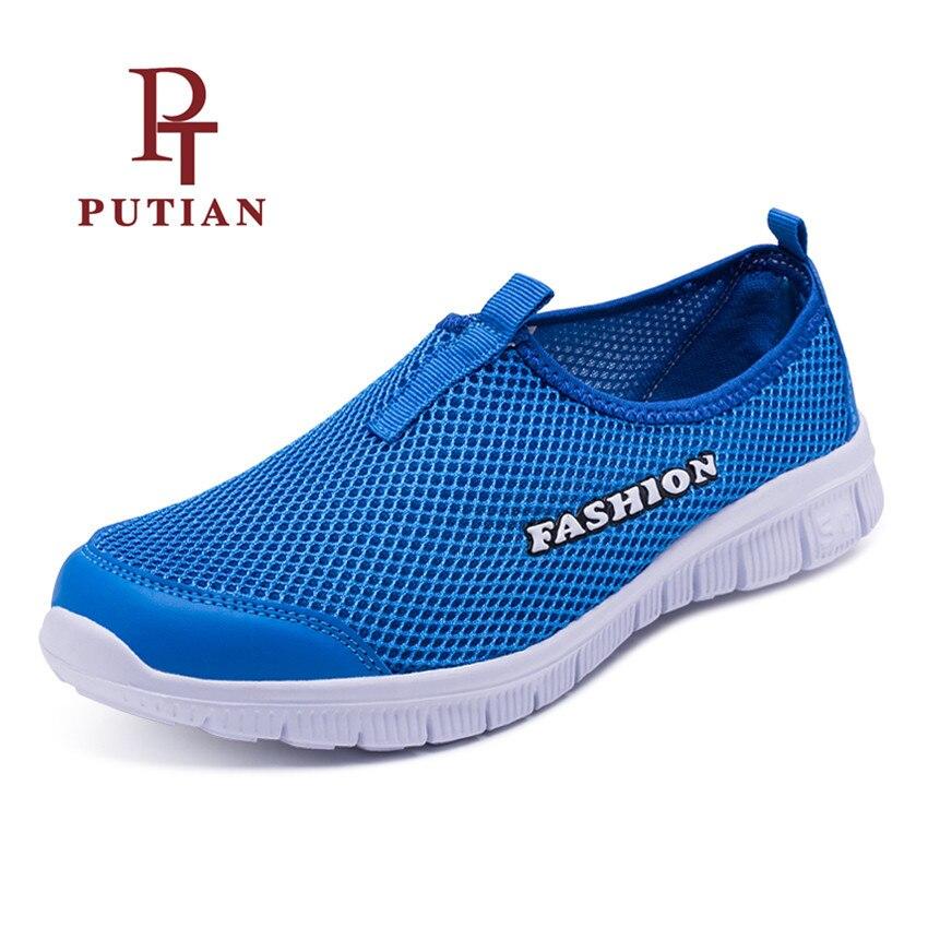 PU TIAN D'été Unisexe En Plein Air Respirant Léger Chaussures de L'eau À séchage Rapide Sport Aqua Chaussures Hommes Femmes Mesh Sneakers 34-46