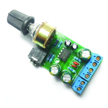 Arcade 2 0 wzmacniacz Audio Stereo Board podwójny kanał AUX wzmacniacz moduł tablicy DC 1 8-12V dla gabinetu MAME Arduino tanie i dobre opinie xinmo Amplifier 8 lat Amplifier Board