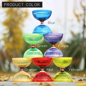 Image 3 - Chineseyoyo Lager Diabolo Jongleren Speelgoed Professionele Diabolo Set Verpakking 6 Kleur Voor Kiezen Met String Bag