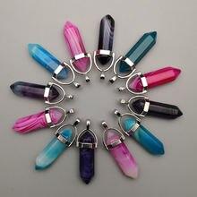 Модные подвески и ожерелья из смешанного ониксового сплава с