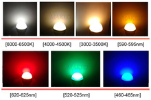 Brightness 1W 3W 5W 7W 9W 12W 15W 18W 30W 36W LED Star HIGH POWER with Aluminum Base Plate Radiator, LED Board Panel Circular