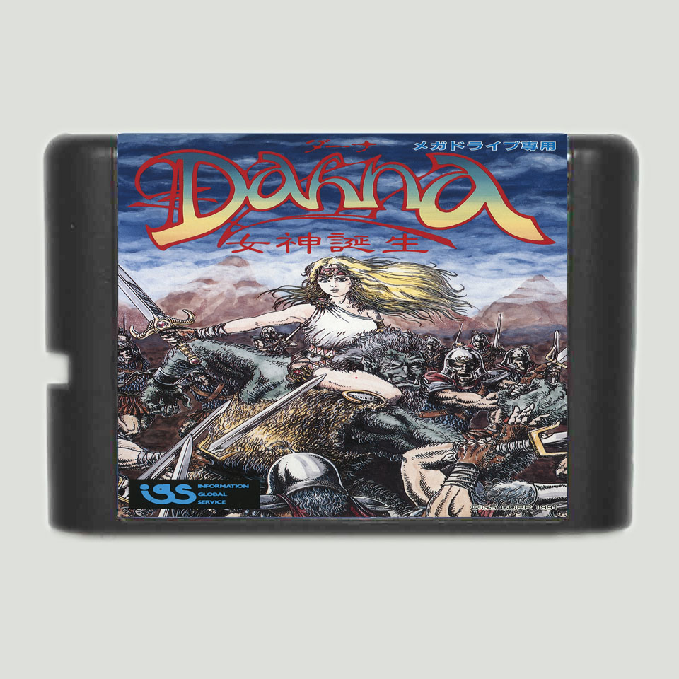 Dahna 16 bit SEGA MD Game Card For Sega Mega Drive For Genesis