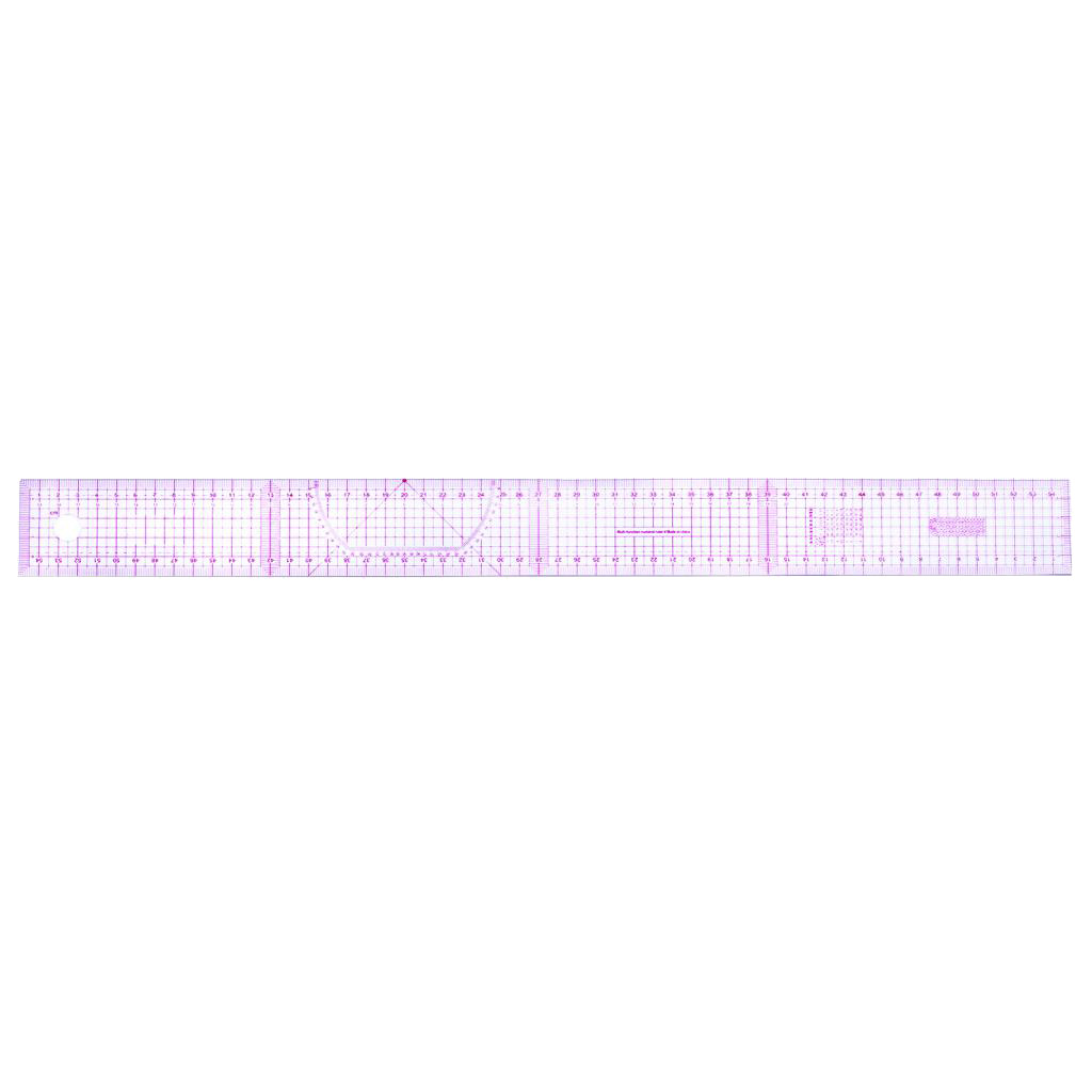 Curve Metric Shaped Ruler 7 Pieces French Metric Ruler Set Plastic Curve Shaped Grading Rulers for Sewing Dressmaking Pattern Design Drawing Template