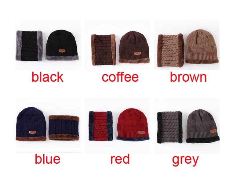 ec44659646c Best Deal] 100pcs/lot Neck warmer knit ski cap scarf cold warm fur ...