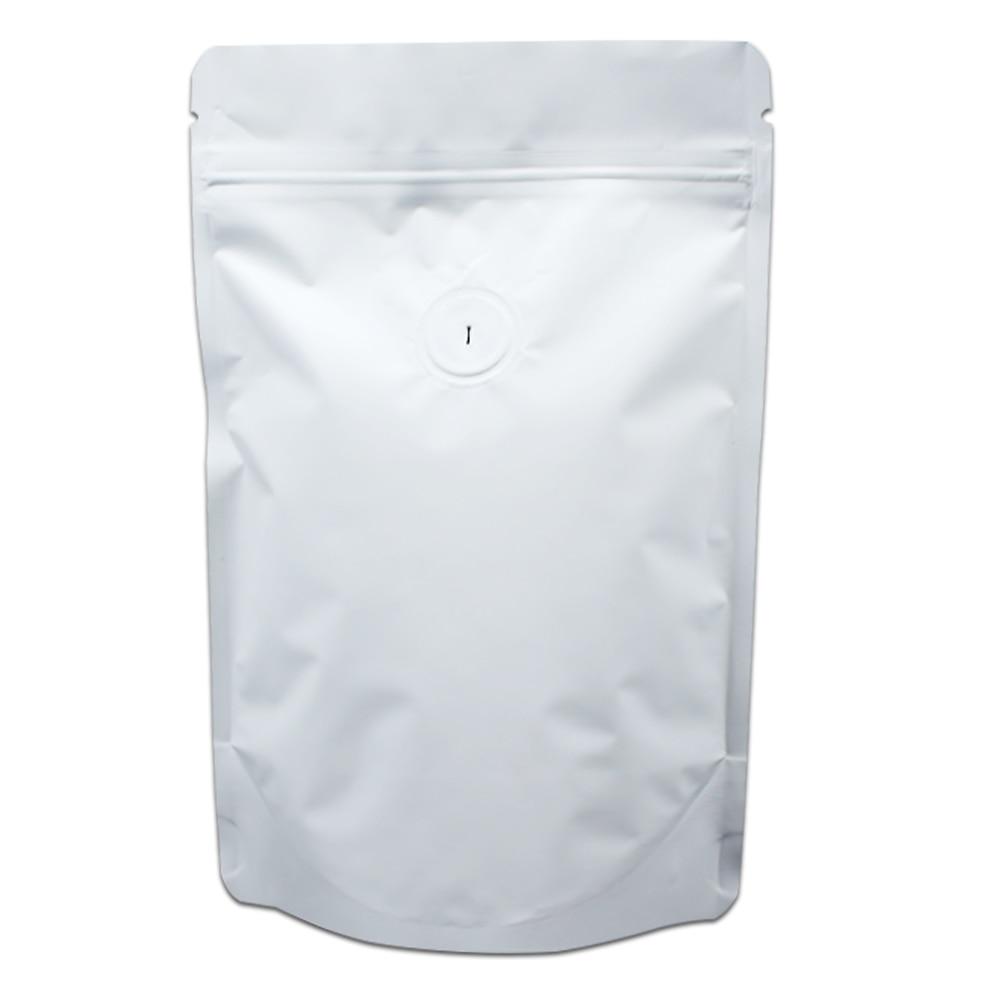 40pcs Lot 23 34cm Stand Up Matte White Aluminum Foil