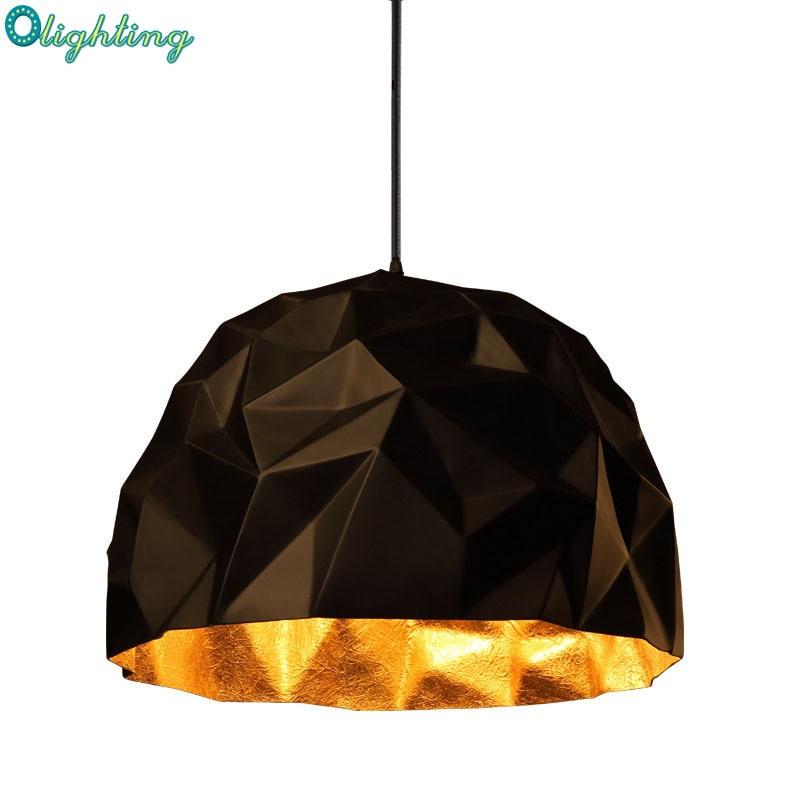 Modern Replica Milan design black semi round pendant lamp for home decor suspension inside gold pendant lights home lighting литой диск replica legeartis concept ns512 6 5x16 5x114 3 et40 d66 1 bkf