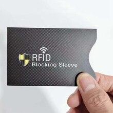 5 шт./пакет анти-сканирования карты рукава кредитной RFID карты протектор и антимагнитными свойствами Алюминий Фольга Портативный банк держатель для карт