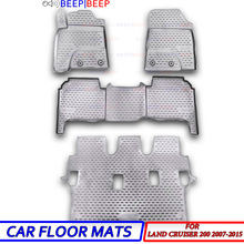 Protection-Carpets Land-Cruiser Toyota Auto-Floor-Mats for Car-Styling Interior-Decoration