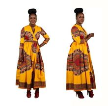 Women African print dresses