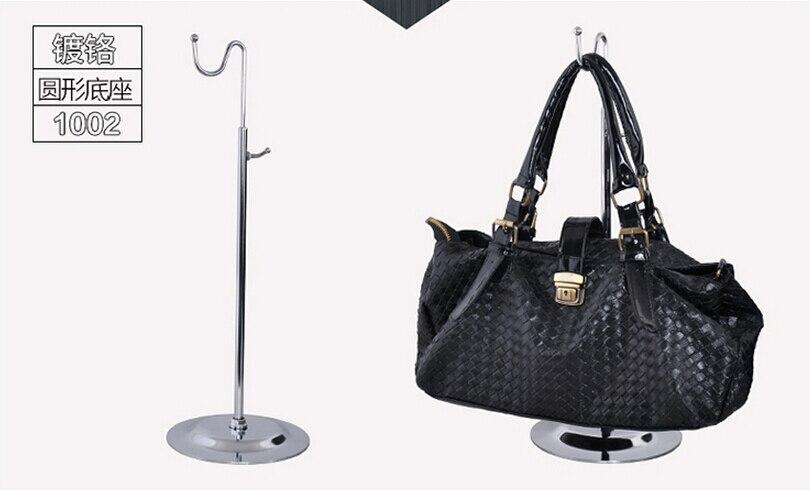 bag stand holder hanger adjustable handbag hanger hook <font><b>display</b></font> rack
