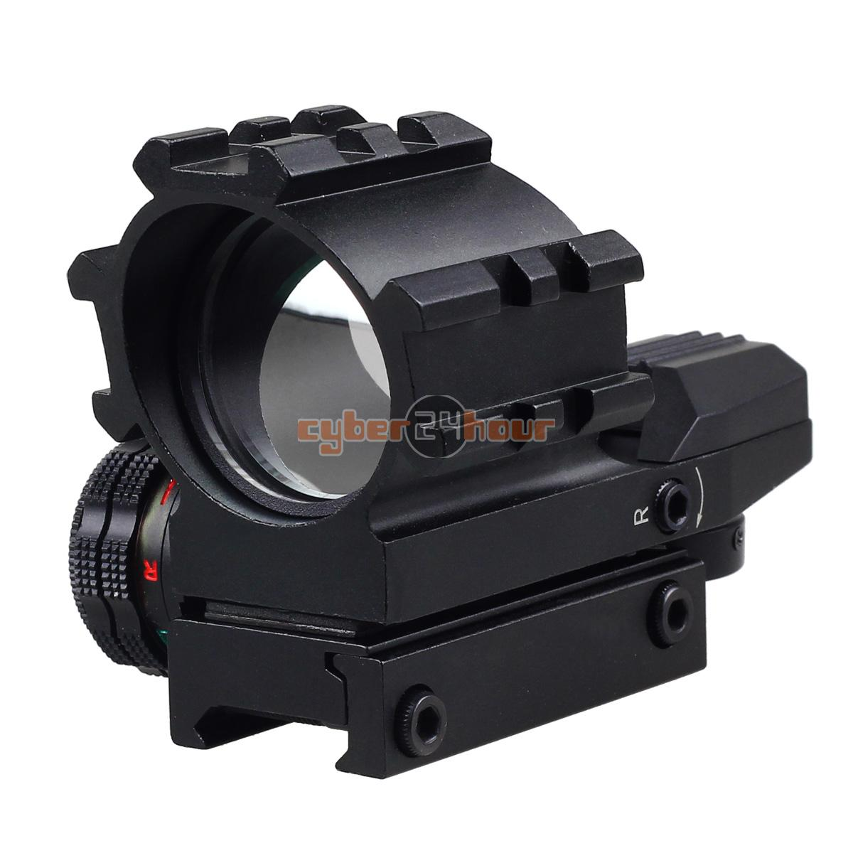 ФОТО NEW Tactical Holographic 4 Reticles Projected Red Green Dot Reflex Sight Scope Mount Free Shipping!