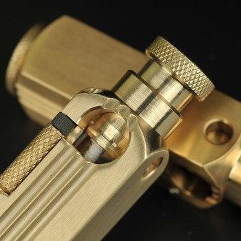 Briquet Gift Handmade Brass Oil Lighter3
