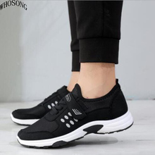 WHOSONG Sport Running Shoes Men Casual Shoes Men Flats Outdoor Sneakers Mesh Breathable Walking Footwear Sport Trainers M164 new exhibition shoes men breathable mesh summer outdoor trainers casual walking unisex couples sneaker mens fashion footwear net