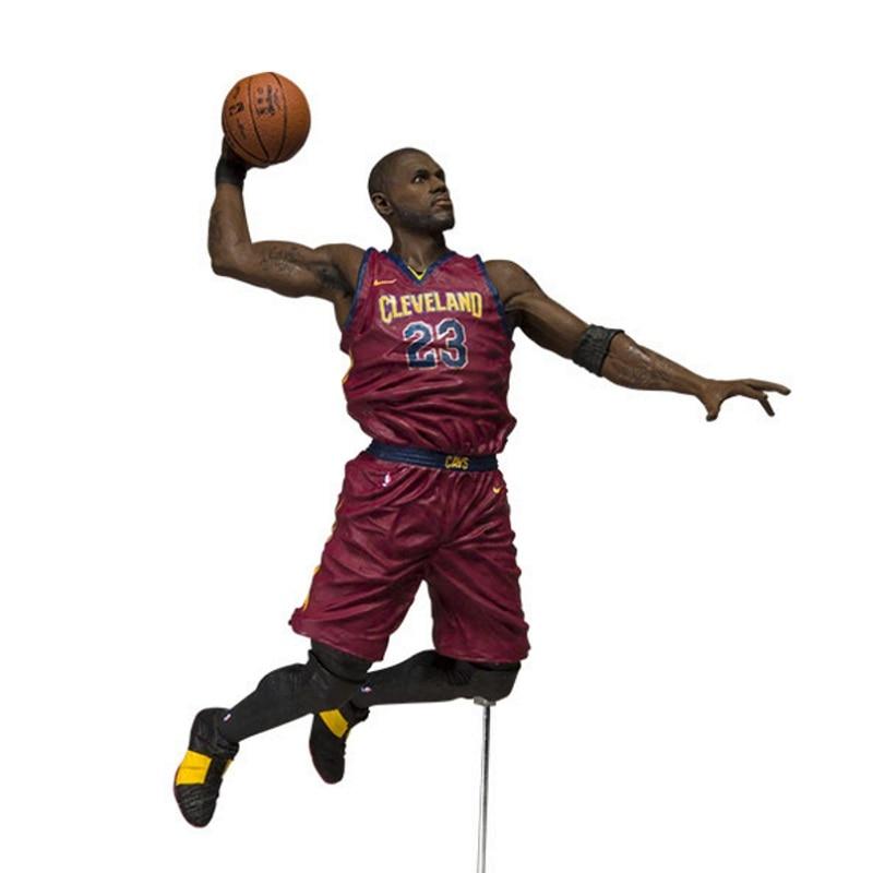 New Arrive 29cm NBA Figure NBA Super Star Player Lovely Action Figure Basketball Model Toys Kids Sports Doll nba basketball characters kobe james curry kyrie john damian 10cm action figure toys