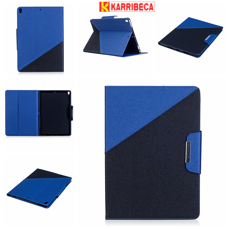 Dual combo color PU leather cover for i pad pro 10.5 2017 tablet case money wallet funda coque etui husa pouzdra tok puzdra