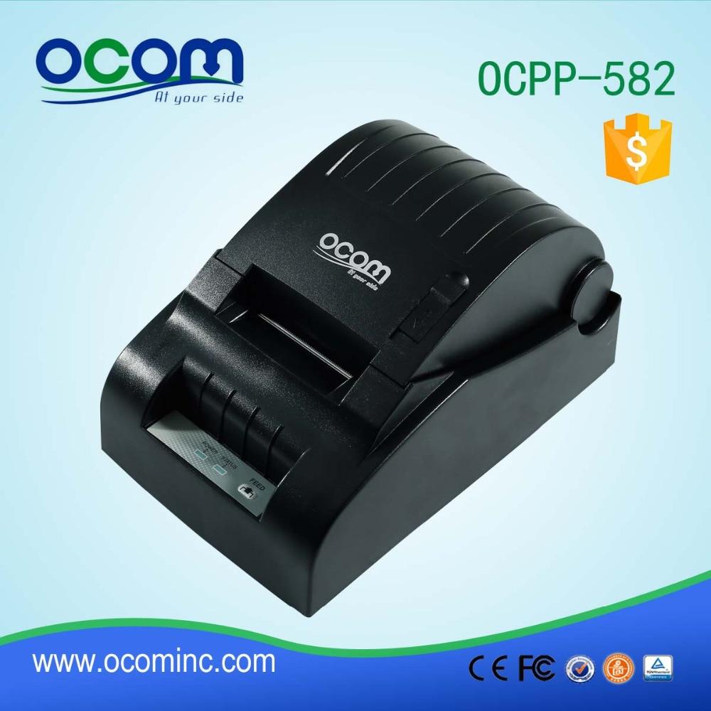 ФОТО 58mm USB Thermal POS Printer -Black Color(OCPP-582)