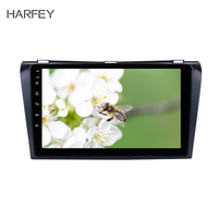 Harfey GPS Multimedia Player 9 HD Android 8.1 Car Autoradio 2Din Stereo For Mazda 3 2004 2005 2009 support DAB+ TPMS Bluetooth