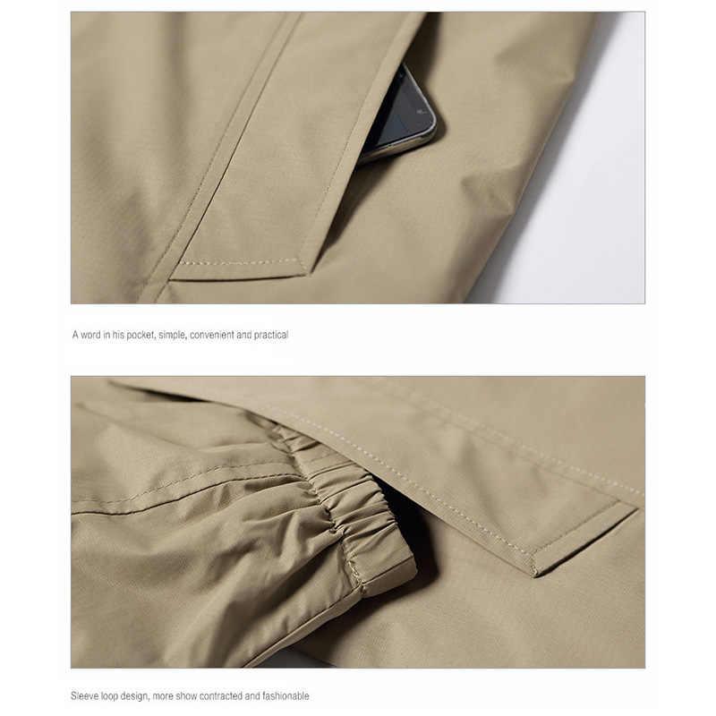 Actionclub 2019 Новое поступление Весенняя мужская куртка модная брендовая одежда куртки на молнии Мужчины Весна Осень Повседневная одежда пальто