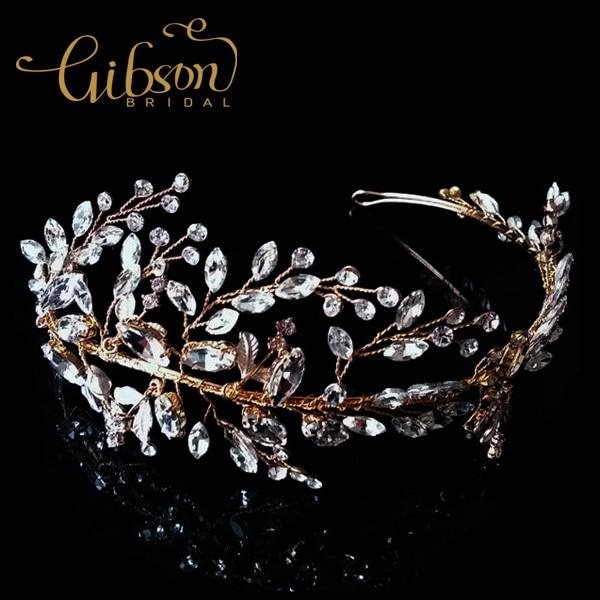 Crystal Rhinestone Wedding Bridal Headband