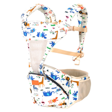купить Baby Sling Cotton Belt Backpacks Wrap Ergonomic  3-18 Months Cotton Saddle Baby Red Pink Blue Floral Doll  Baby  Brand онлайн
