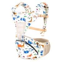 Baby Sling Cotton Belt Backpacks Wrap Ergonomic 3 18 Months Cotton Saddle Baby Red Pink Blue Floral Doll Baby Kangaroo Brand