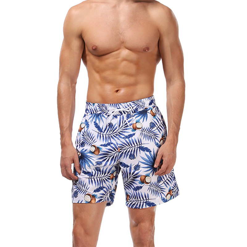 Men's Swim Trunks Quick Dry Beach   Shorts   Swimsuit Surf Boardshorts Swimming   Shorts   Surf Beach Pants   Board     shorts