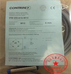 Darmowa wysyłka 100% nowy DW-DD-616-M12 takich atrakcji  jak przełączania indukcyjny DC 2-drutu normalnie zamknięty czujnik wodoodporny